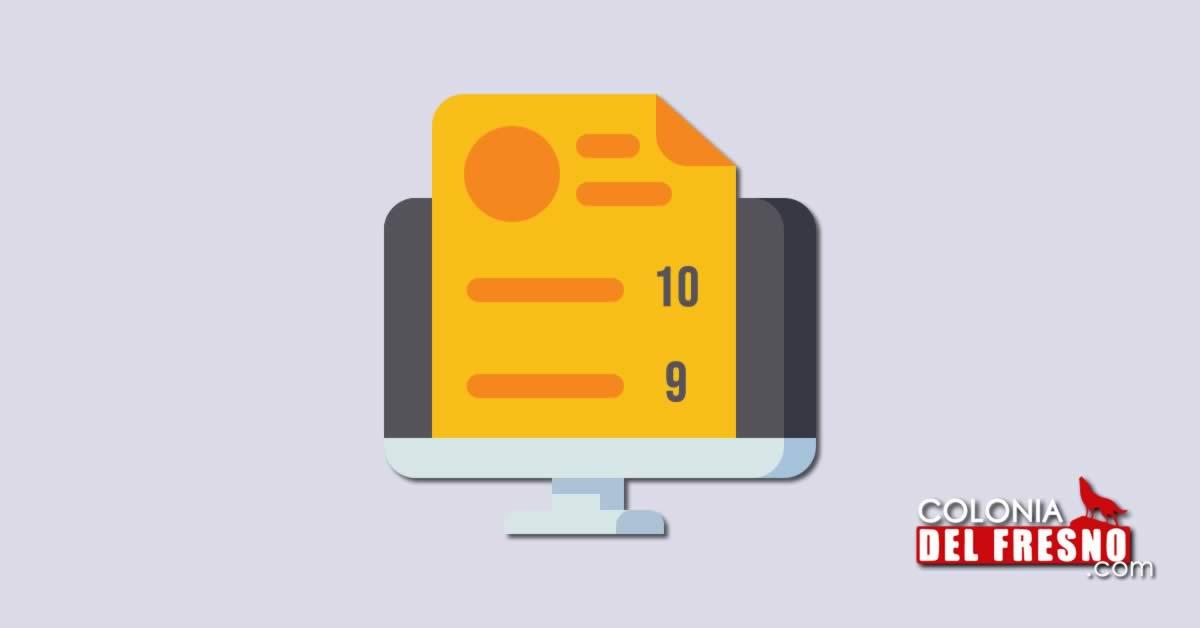 consultar calificaciones por internet