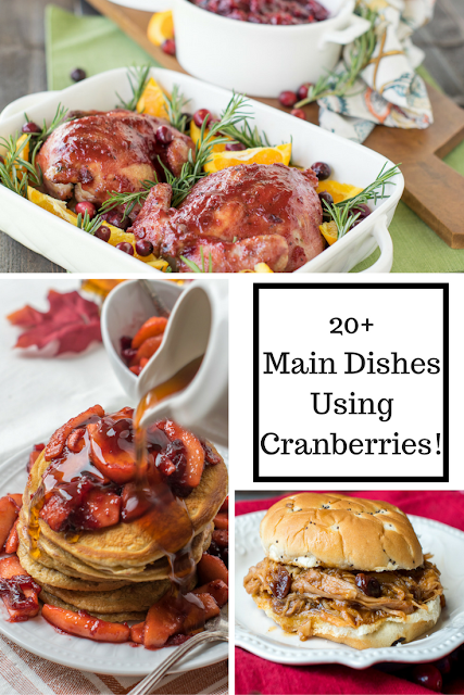 20 cranberry main dish recipes