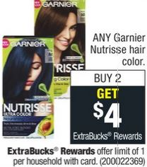 Garnier Nutrisse Hair Color