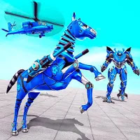 Super Horse Robot Transform: Flying Helicopter Apk Download