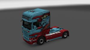 Scania RJL The Griffin Special Skin