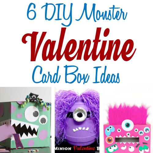 Diy Home Sweet Home Diy Monster Valentine Boxes