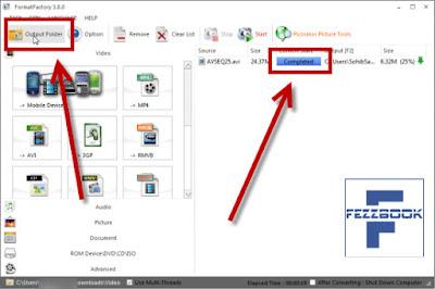 Cara merubah format video agar bisa di putar di HP