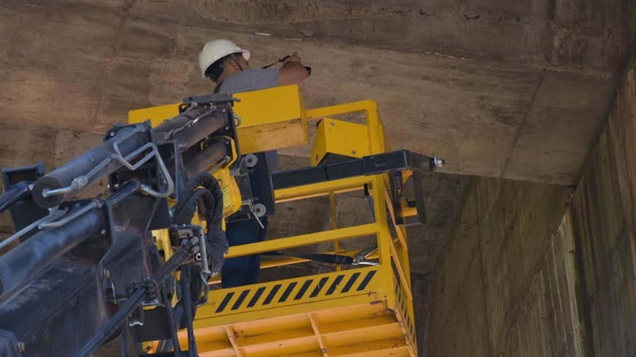 Prefeitura de Botucatu realiza vistoria estrutural no Elevado Bento Natel