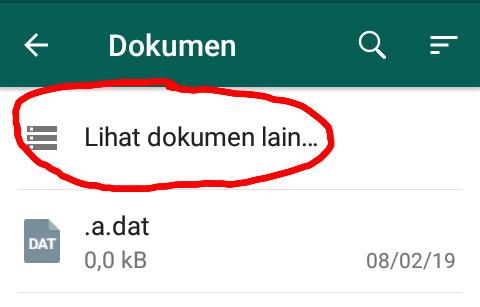 Cara mengirim gambar whatsapp agar tidak pecah