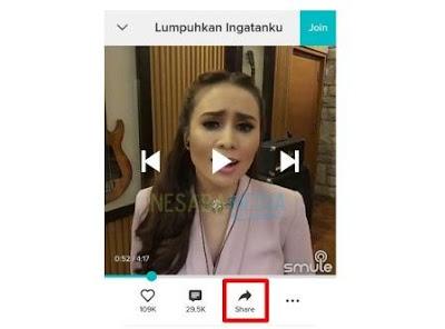 cara download video smule di vidmate