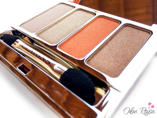 Palette_Yeux_4_Couleurs_Sunkissed_Clarins_ObeBlog