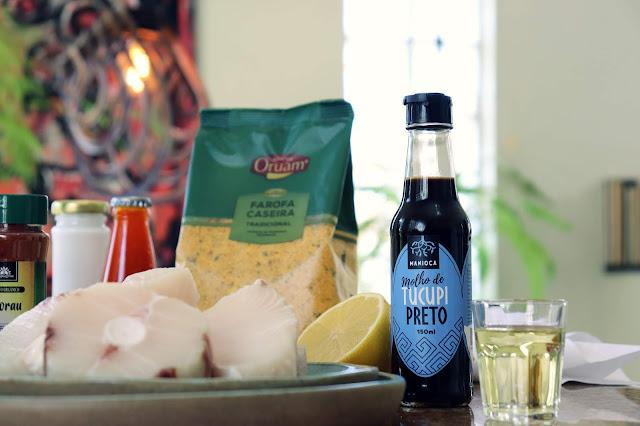 Receita Neoo: Moqueca de Peixe com Farofa e Cachaça