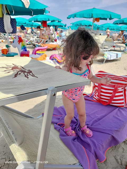Club Family Hotel Tosi Beach spiaggia