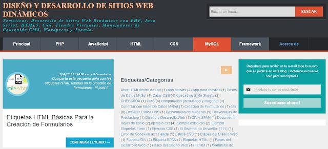 Programación de Sitios Web Dinámicos