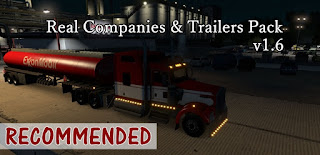 recommendedmodsats, ats mods, ats realistic mods, ats real companies, ats real trailers, american truck simulator mods, ats 1.32