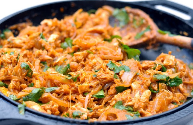 Mexican Chicken Tinga #chicken #dinner
