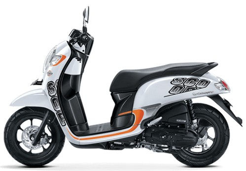 Warna Honda Scoopy Terbaru