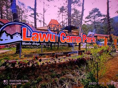 lokasi lawu camp park tawangmangu
