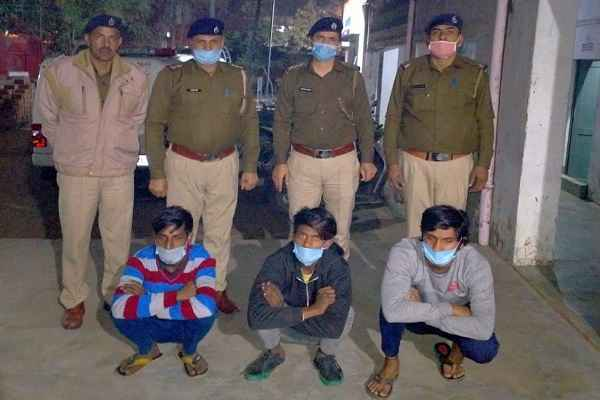 faridabad-sanjay-colony-police-chowki-arrested-3-mobile-chor