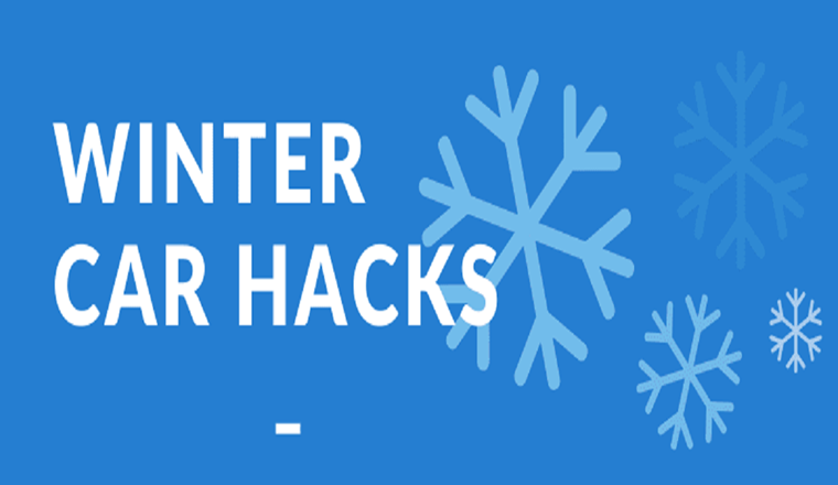 Winter Car Hacks #infographic