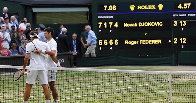 Dış Köşe   Tarihe geçen maçın galibi Novak Djokovic!