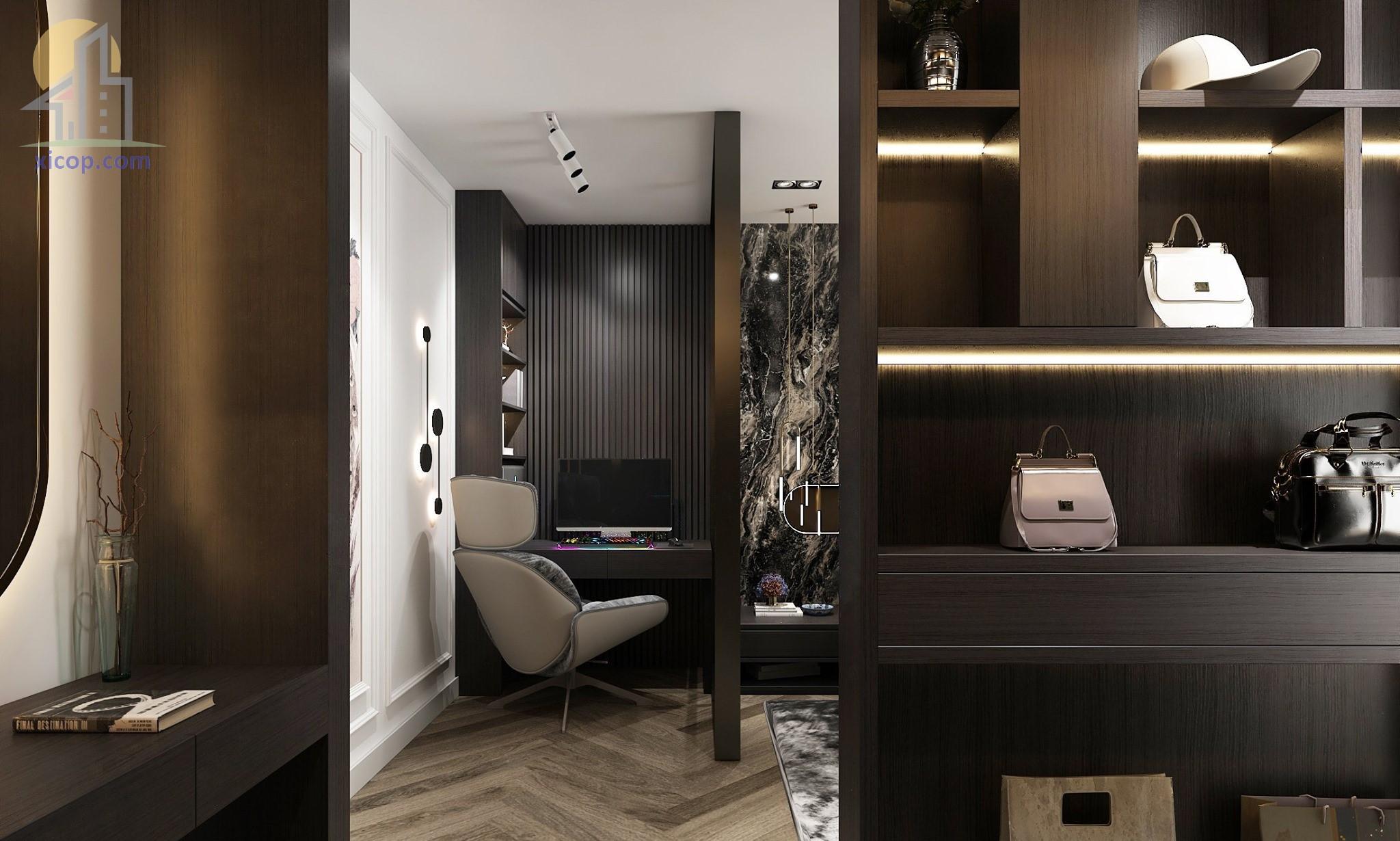 Nội thất nhà phố đẹp hiện đại mẫu thiết kế phong cách mới 03