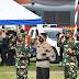 PANGDAM II/SRIWIJAYA HADIRI APEL GELAR PASUKAN OPERASI KETUPAT MUSI 2021