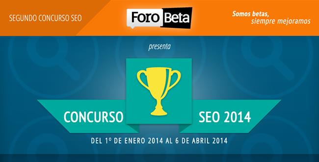 Segundo Concurso SEO Forobeta 2014