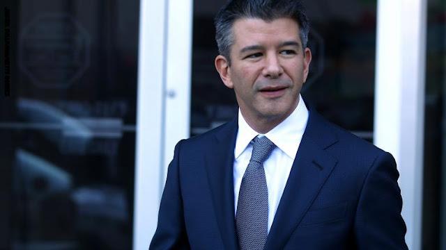 مؤسس أوبر يتنحى عن منصبه في مجلس إدارة الشركة