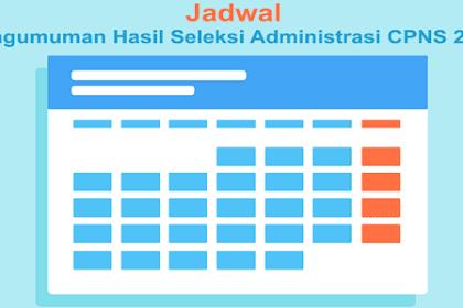 Daftar Instansi yang Pastikan Jadwal Pengumuman Hasil Seleksi Administrasi CPNS 2019