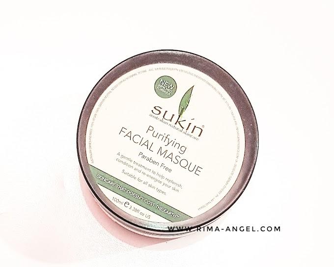 Review Sukin Purifying Facial Masque