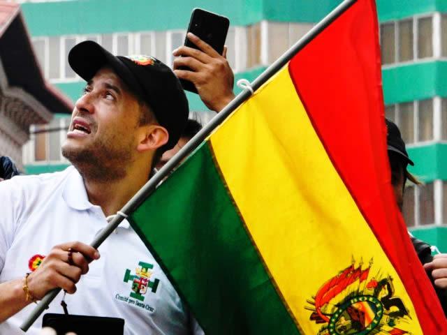 Legisladores destacan que Luis Fernando Camacho deje su candidatura en blanco