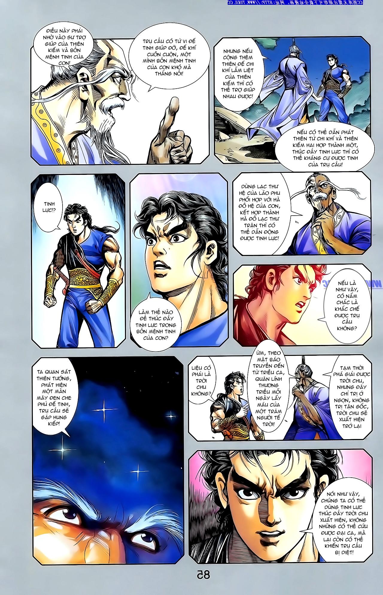 Cơ Phát Khai Chu Bản chapter 148 trang 20
