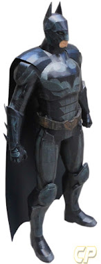 papercraft of batman from injustice gods among us