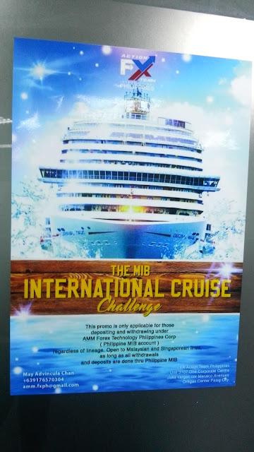 Take on the MIB International Cruise challenge!