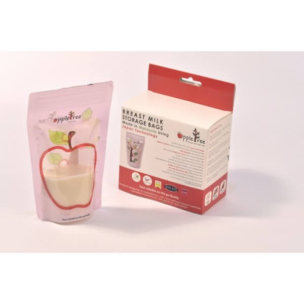 Review AppleTree Breast Milk Storage Bag