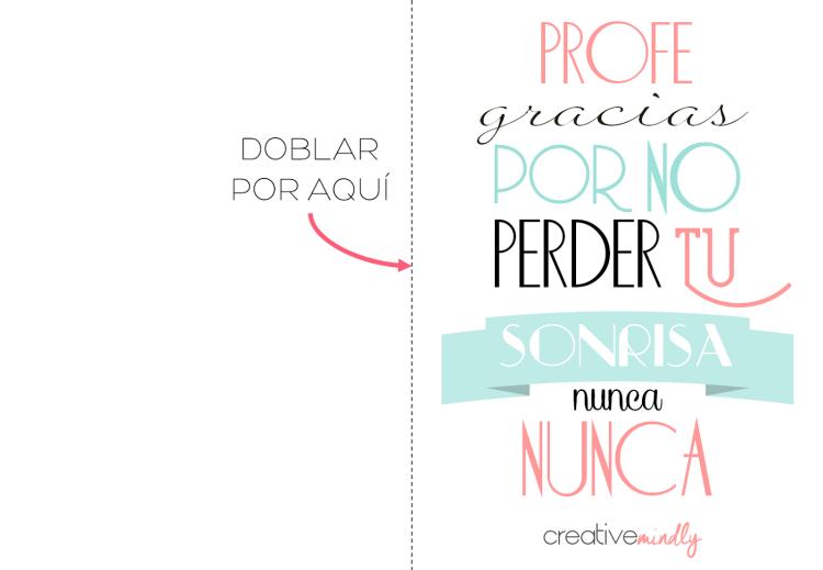 Creative Mindly: Carteles, láminas y tarjetas para profesores