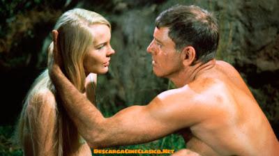 Burt Lancaster y Janet Landgard