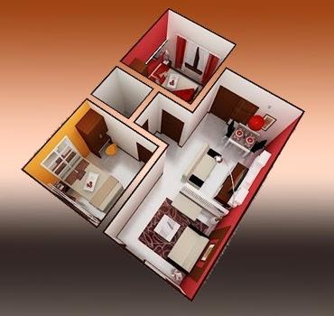 Sketsa Desain Interior Rumah Minimalis Type 36
