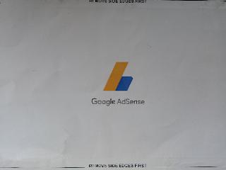 Surat yang berisi nomor identifikasi pribadi (pin) dari AdSense