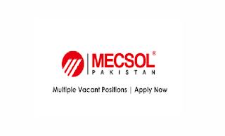 MECSOL Engineering Services Pvt Ltd Jobs 2021 in Pakistan