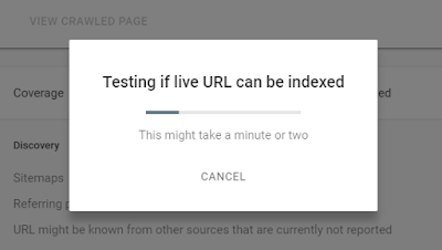 Cara Index Artikel Blog Di Google Webmaster Tools Versi Terbaru