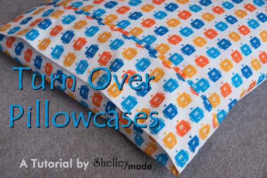 Little Boy Bedroom Part 4 - Pillowcase