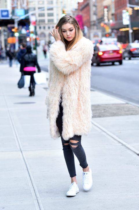 Celebrity Street Style Gigi Hadid The Kara Edit
