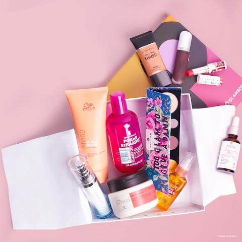 [Glambox] Receba Produtos de Beleza + Cupom de desconto