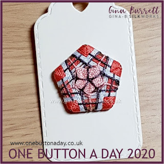 One Button a Day 2020 by Gina Barrett - Day 169 : Quinary
