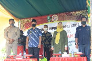 Wakil Bupati Sinjai Lantik Pengurus Karang Taruna Desa Gantarang