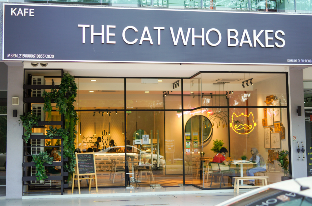 the cat who bakes, damansara damai