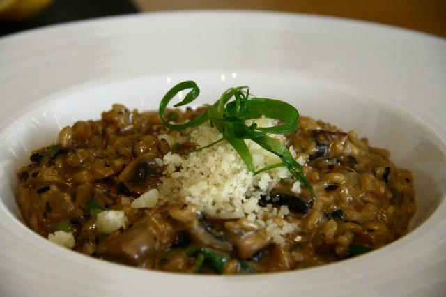 ריזוטו, מסעדת ענבה, צילום אורנה לבנה