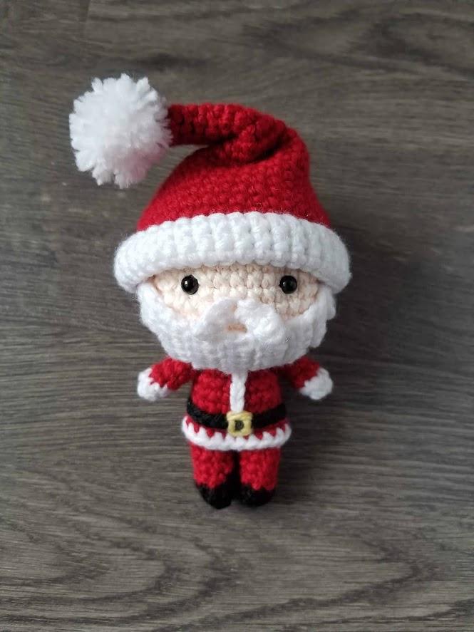 Santa Claus Free Amigurumi Crochet Pattern