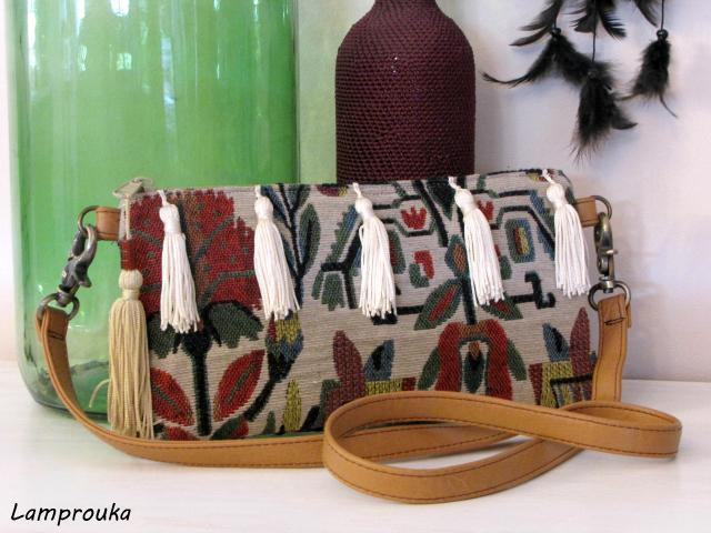 boho τσάντα,οδηγίες κατασκευής