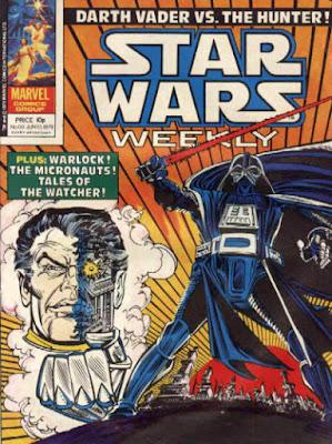 Star Wars Weekly #68, Darth Vader