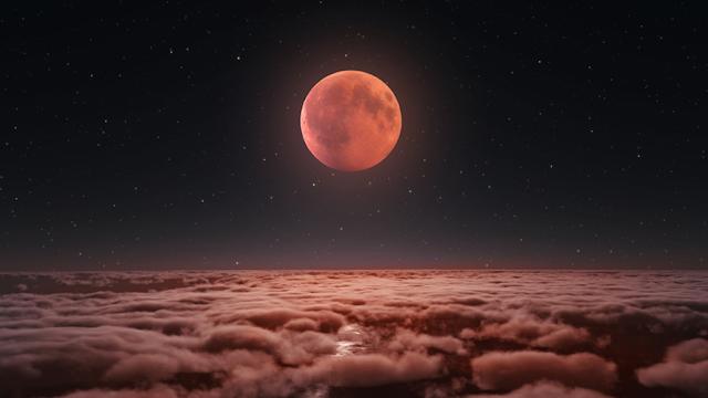 El primer eclipse lunar total del año se verá en México la próxima semana