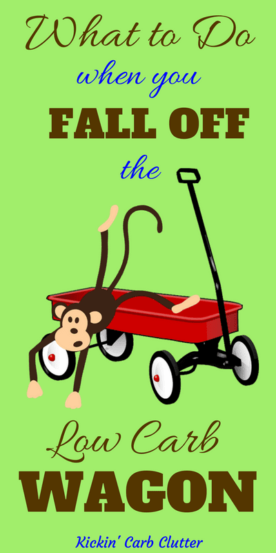 Pinterest Image: Monkey Falling Out of a Red Wagon